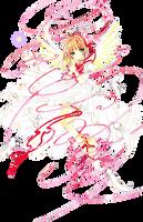 Kinomoto Sakura / Render by xAryaSx