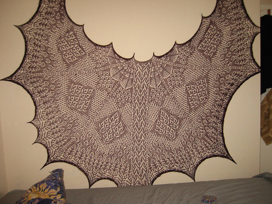 halloween mystery shawl by devilslove666