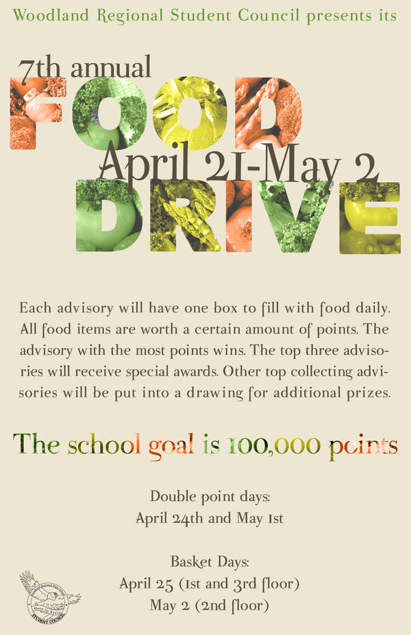 Food Drive Poster by butbrightlylit on DeviantArt