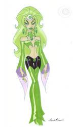 Emerald Empress by SpawnofSprang