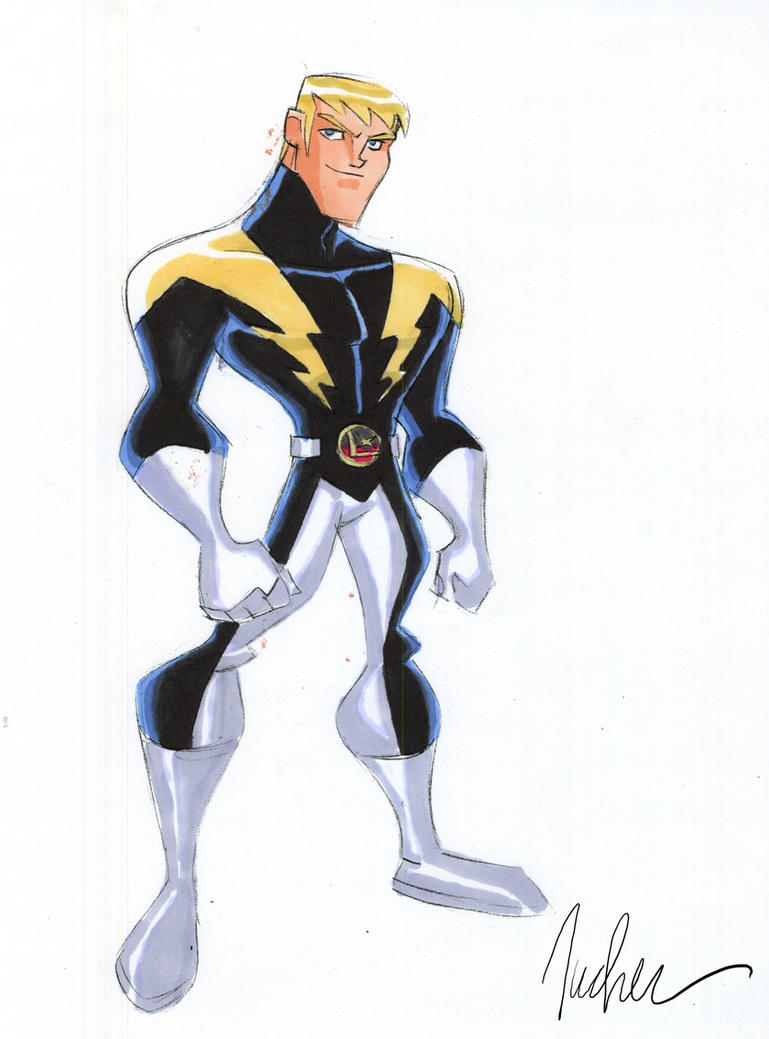 Lightning Lad by SpawnofSprang