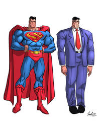 Superman concept design by SpawnofSprang