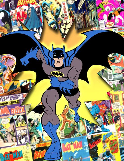 Batman Brave and Bold early development pitch art