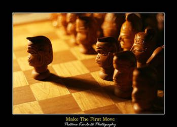 Make the first move by Pkendarto