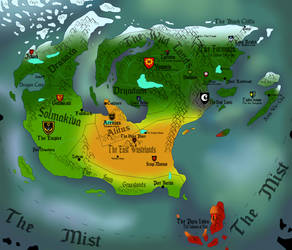Magiterra Map