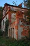 Ruins in Huta Komorowska