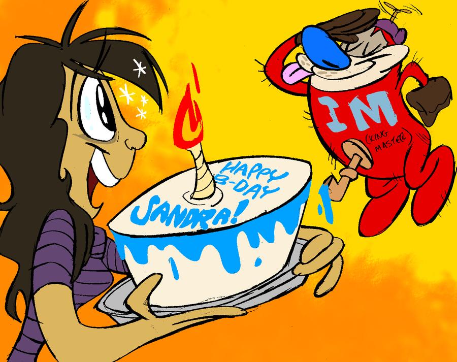 Happy Birthday Sandra! by LilypadDork