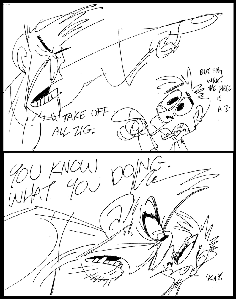 Zero Wing-a-ding by LilypadDork