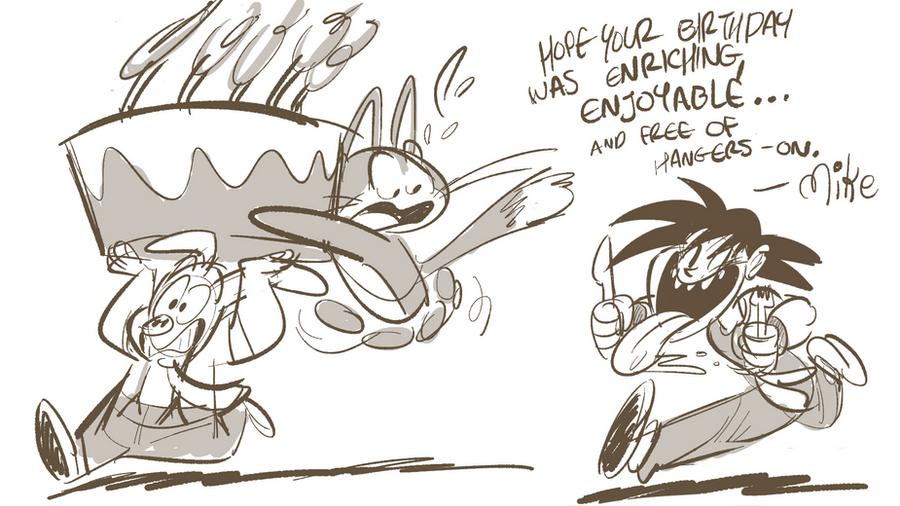 Goku wants cake by LilypadDork