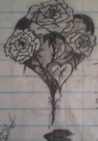 original thorny heart by Kiba-Aido