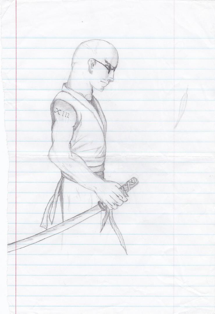 swordsman by Kiba-Aido