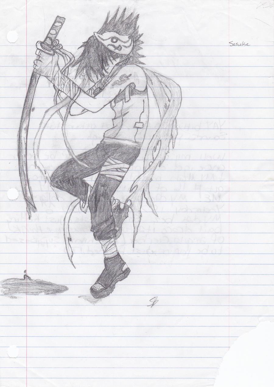 Sasuke by Kiba-Aido