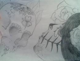 Sugar Skull by Kiba-Aido