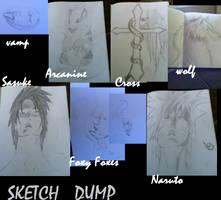 Sketchdump by Kiba-Aido