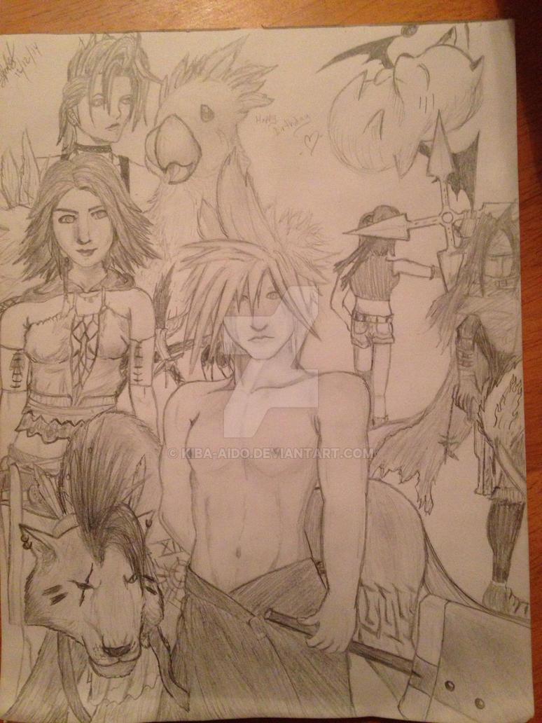 Final Fantasy :) by Kiba-Aido