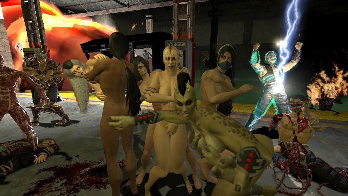 Mortal kombat characters nude