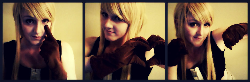 FMA- Winry loves you~ by FanglessVampire