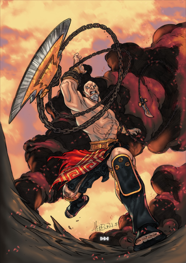 Kratos by SephirothArt