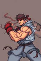 let's fight by SephirothArt