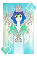 Playing Cards : King of Spades by sophiaazhou