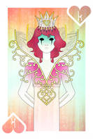 Playing Cards : King of Hearts by sophiaazhou