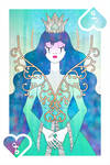 Playing Cards : Queen of Spades