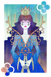 Playing Cards : Queen of Clubs