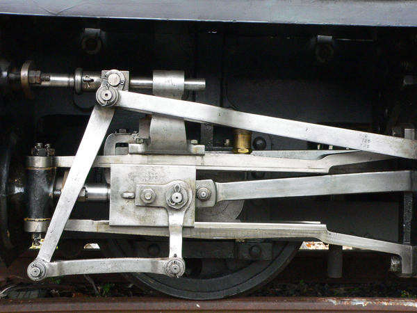 Piston and rods