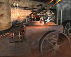 Steampunk wars by otherunicorn