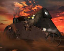 Steampunk Wars 2 by otherunicorn