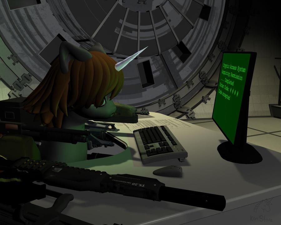 Fallout: Equestria -Littlepip3 by otherunicorn on DeviantArt