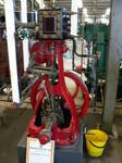 Marshall steam engine