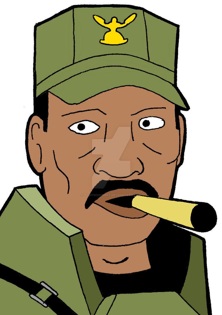 Sergeant Johnson by TobySchubert