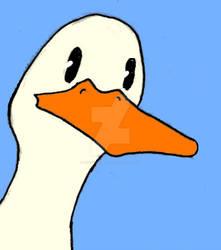 A duck! by TobySchubert