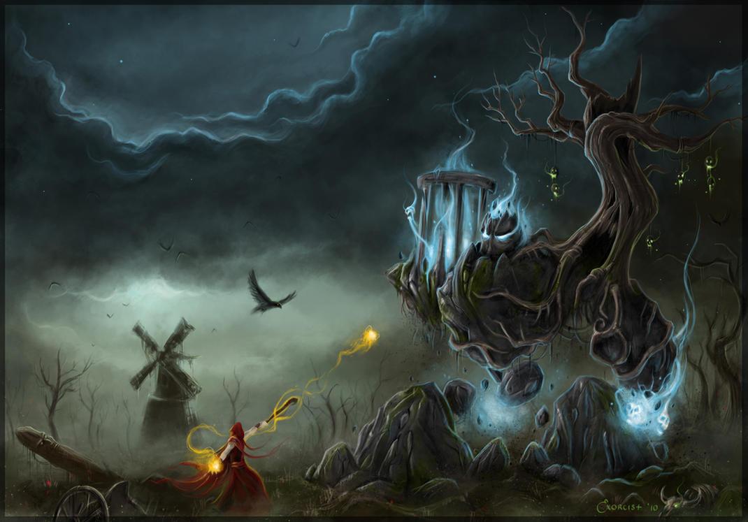 La trastienda de la alimaña Desecrated_Source_of_Magic_by_AlexanderExorcist