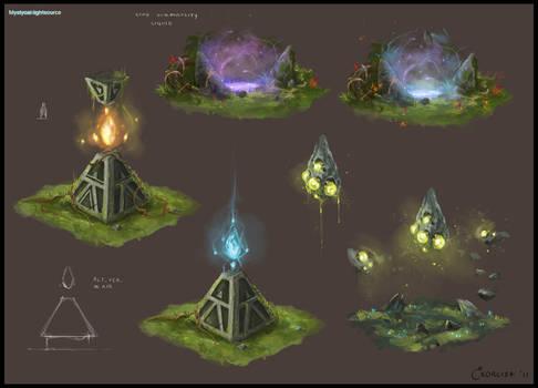 Mystical Lightsource Concept 2