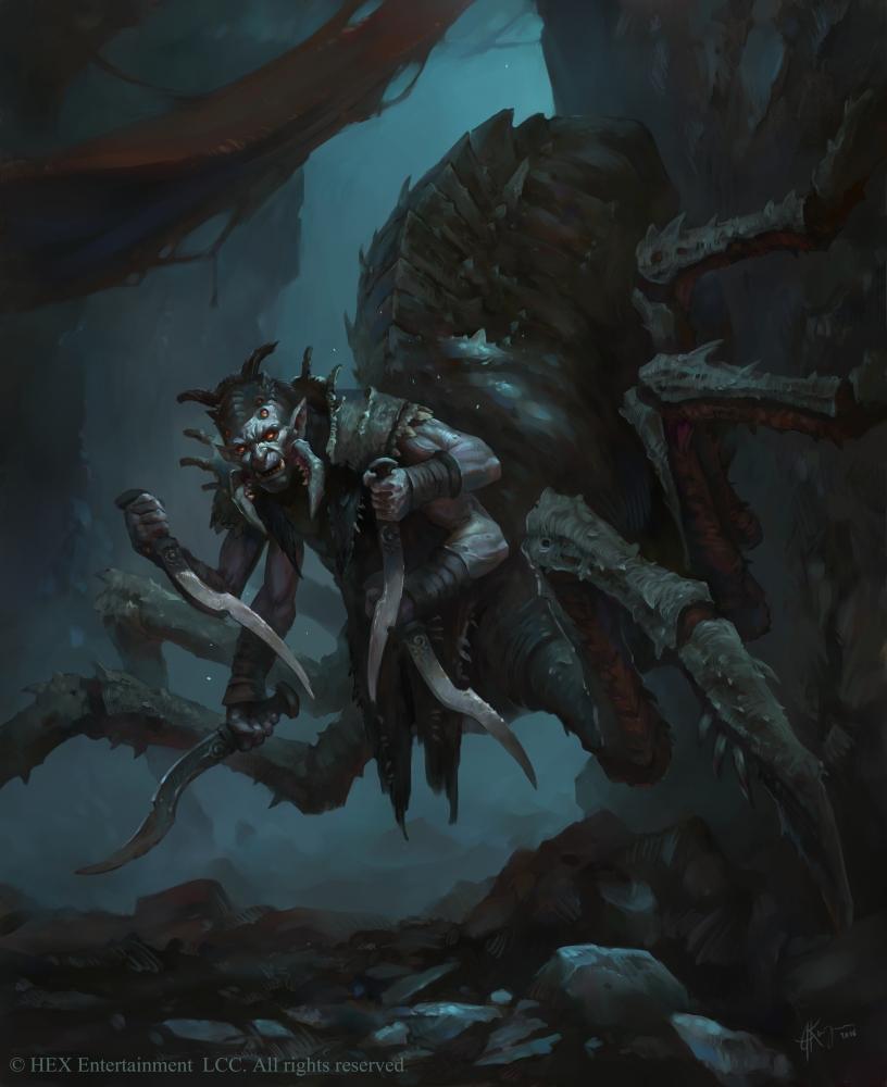 Korru Infiltrator by AlexanderExorcist