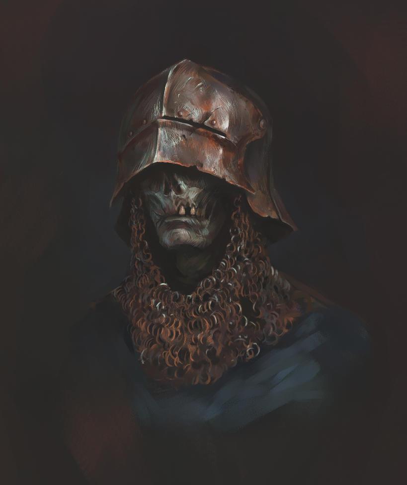 Undead Portrait by AlexanderExorcist
