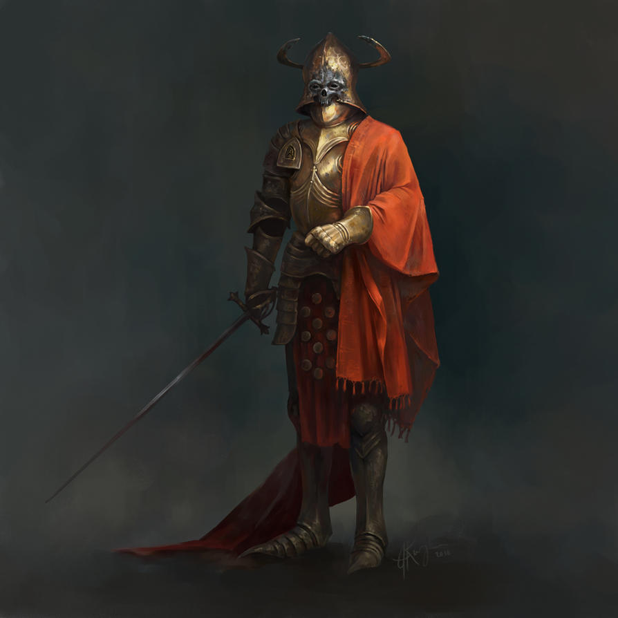 Fallen Knight by AlexanderExorcist