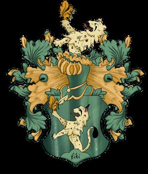 Naisho no Sekai coat of arms