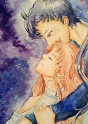 Mana and Seiya by Eiki331