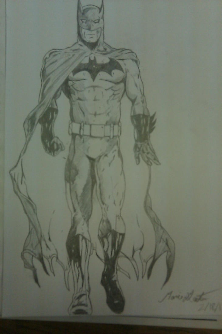 Batman by mgaitan1993