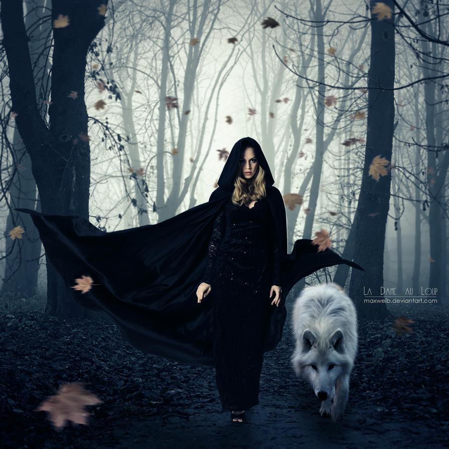 La Dame au Loup by Maxwelb