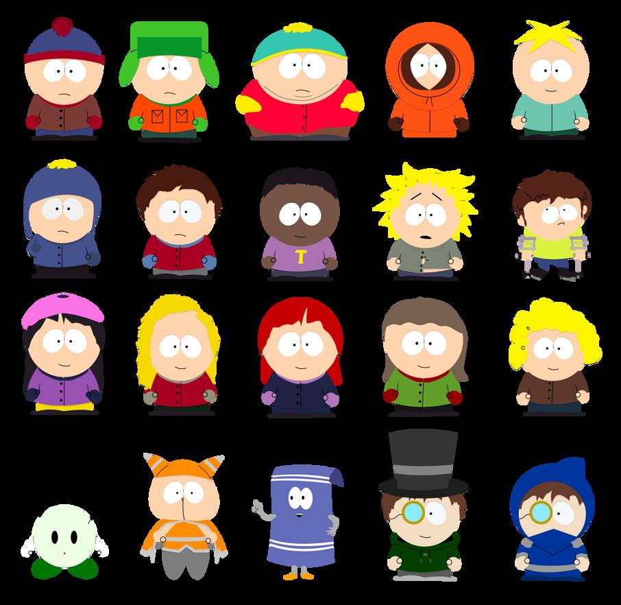 South Park Charaktere