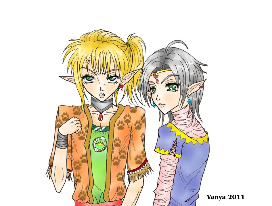Elf princes by Celerana-chan