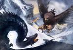 Dragones y aguilas