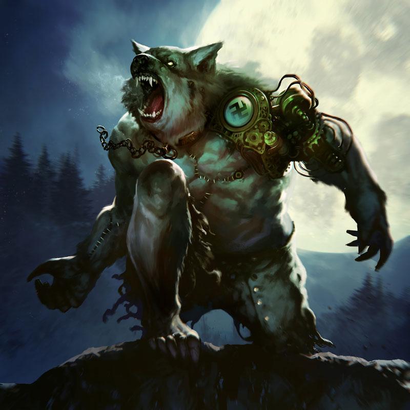 Nazi Werewolf by BorjaPindado
