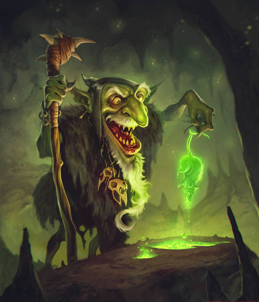 Shaman Goblin by BorjaPindado