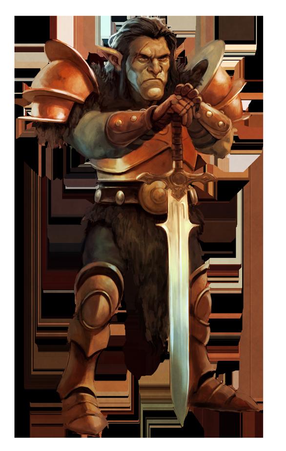 Warrior goblin by BorjaPindado