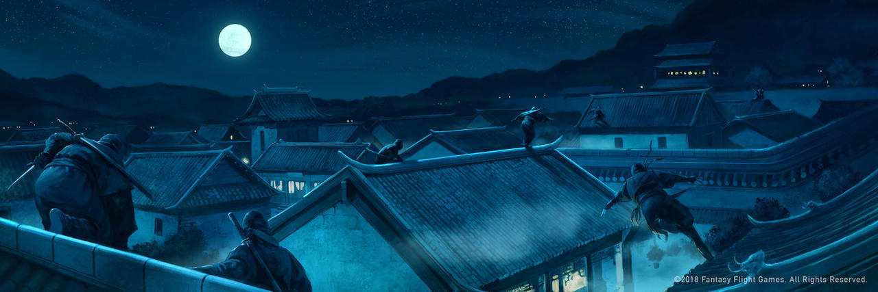 Shadows on Rooftops by BorjaPindado
